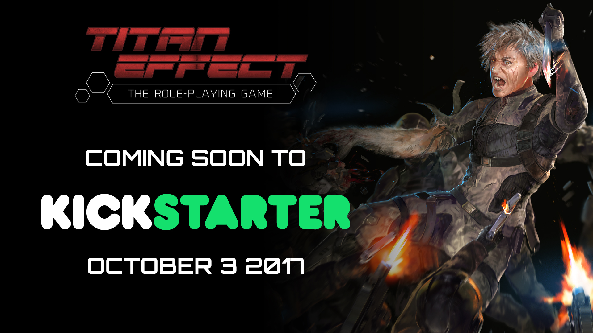 Titan Effect RPG coming soon to Kickstarter October 3 2017.