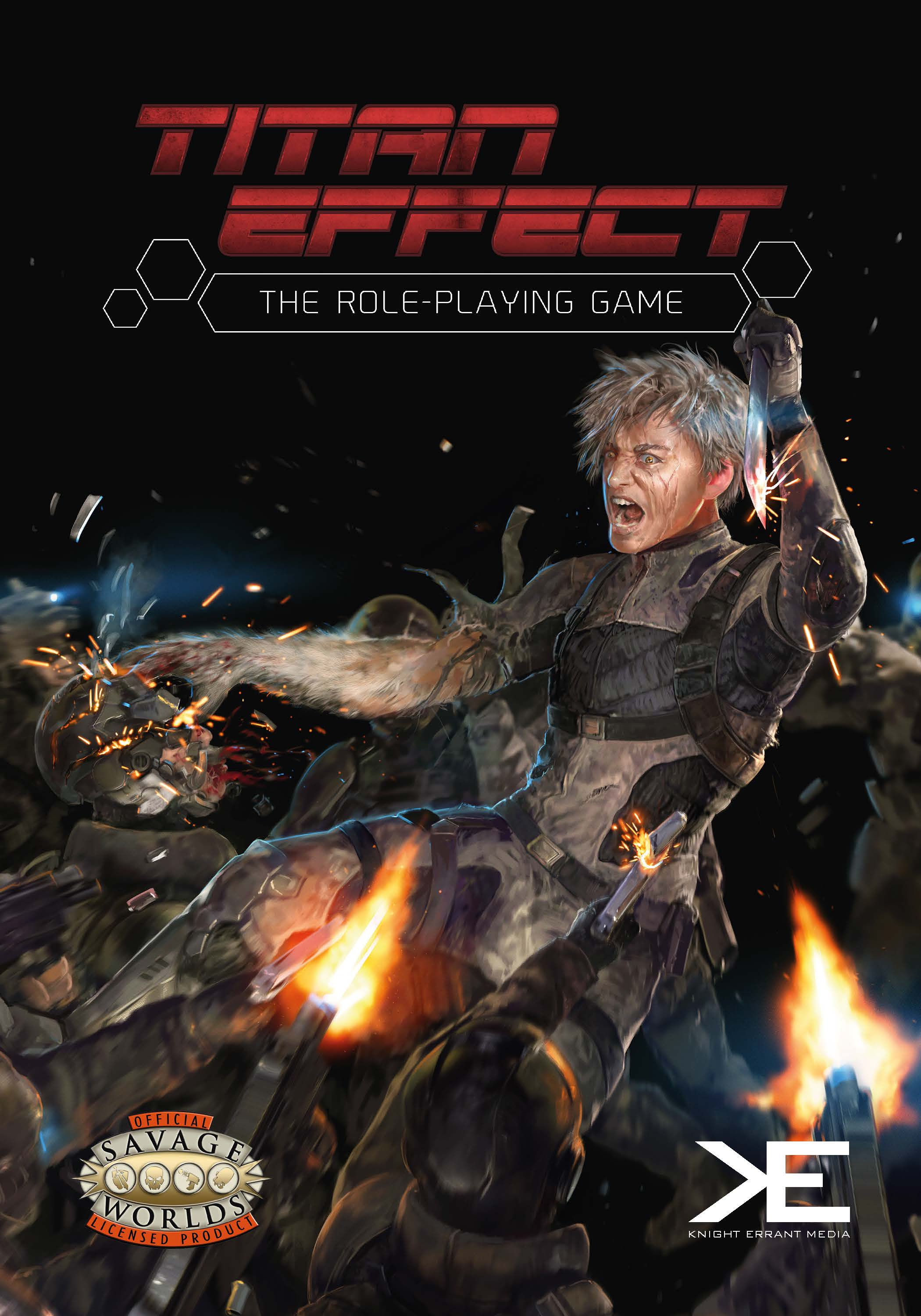 Titan Effect role-plyaing game cover