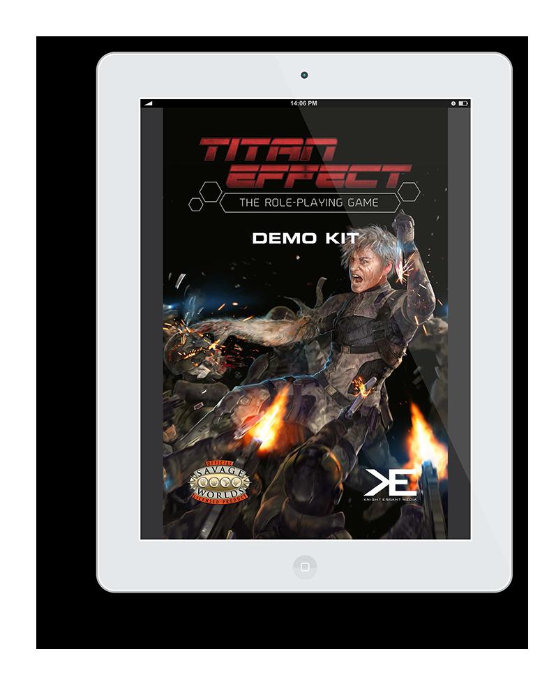 Titan Effect Demo kit cover